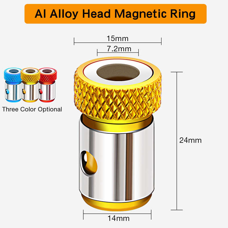 Details about  /Screwdriver Bits Magnetic Ring Metal Strong Magnetizer Screw Supply M5C2