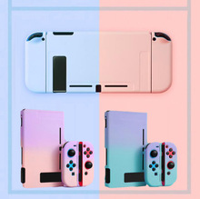 Matte Hard PC Full Back Cover Crystal Shell For Nintendo Switch NS Console Joy Con Controller Protective Film Sticker Skin Case