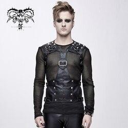 Teufel Mode männer Punk Leder Kostüm Zubehör Neuheit Mode Persönlichkeit Slim Fit Zubehör