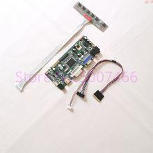 Panel LCD para ordenador portátil, controlador de pantalla LVDS, WLED, 40 Pines, 1920x1080, DVI, VGA, M.NT68676, LTM184HL01-C01/M01