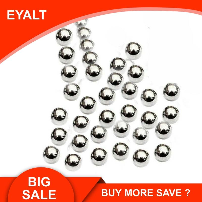 300PCS 6.35MM  1/4 Inch Carbon Steel Balls For Hunting Slingshot Catapult Ammo Replacement Bike Bearing SlingShot Accessories