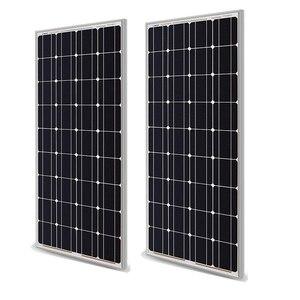 Image 3 - Chất Lượng Cao 400W 200W Kính Tấm Pin Năng Lượng Mặt Trời 300W PV Mô Đun Bộ Monocrystalline Pin Năng Lượng Mặt Trời 12V Năng Lượng Mặt Trời pin Sạc RV/Nhà/Thuyền