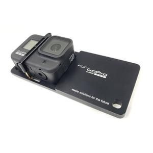 Image 2 - Gopro hero 8 용 핸드 헬드 짐벌 안정기 마운트 플레이트 DJI 용 스포츠 액션 카메라 OSMO Moblie Smooth 4 Q2 Snoppa Atom Isteady