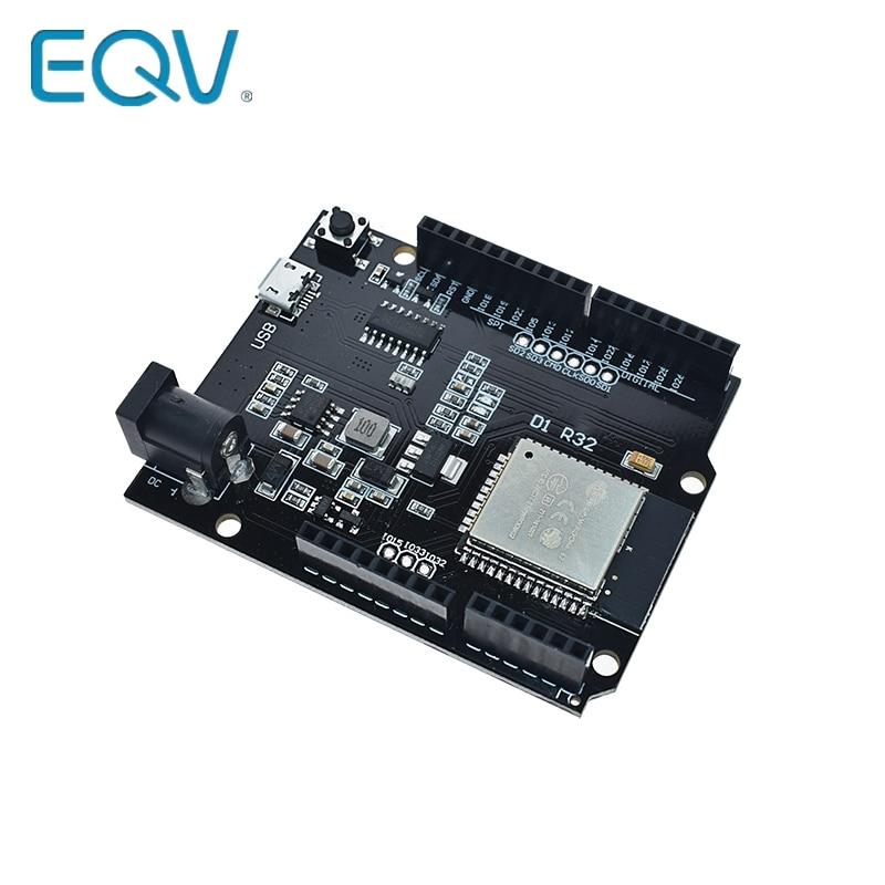 ESP32 WiFi+Bluetooth+UNO WeMos D1 R32 Module 4MB DC CH340 Devolopment Board