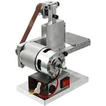 «Лучшее» многофункциональный измельчитель мини электрический ленточный шлифовальный станок DIY Полировка шлифовальный инструмент 889