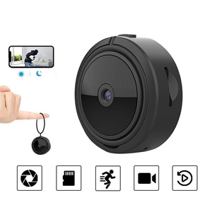 Portable Mini Camera with Night Vision Motion Detection HD1080P Small Camera for Home Office Shop