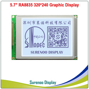 """Image 5 - 5.7"""" 320X240 320240 Graphic LCD Module Display Panel Screen LCM with RA8835 Controller Blue White LCD with LED Backlight"""