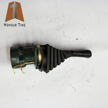 Hot Sell General Excavator Hydraulic control handle Hydraulic joystick Pilot valve wooden hydraulic excavator model handmade scientific experiments steam