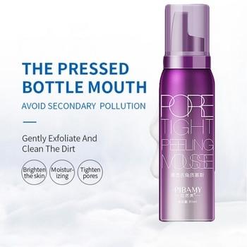 80ml Pore Tight Peeling Mousse Exfoliating Moisturizer Cleanser Removing Dead Skin Oil Control Shrink Pores cetaphil dermacontrol oil control moisturizer spf 30