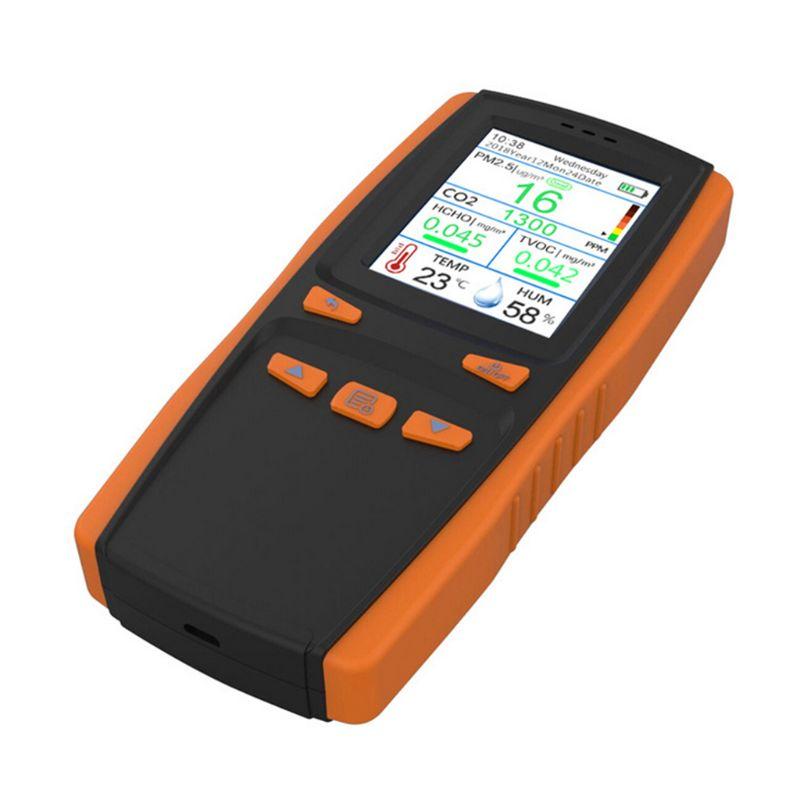 Монитор качества воздуха для частиц PM2.5 PM10 CO2 влажности температуры - 2