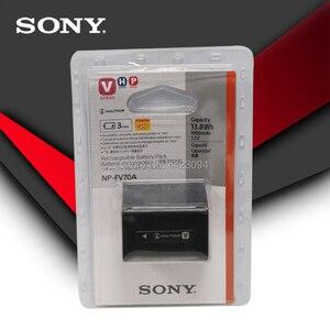 Sony Original NP-FV70A NP FV70A Camera Battery For Sony AX700 AX45 60 AX100E AXP55