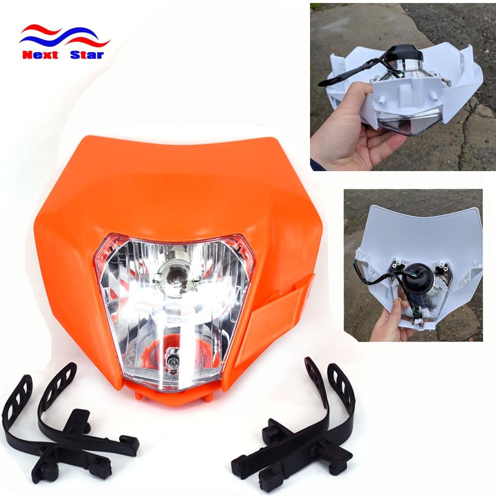 Motorcycle Universal Headlamp Lights Headlight For KTM EXC EXCF XC XCF XCW XCFW SX SXF SXS SMR 125 250 350 450 500 505 520 530