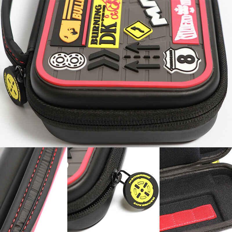 نينتندو سويتش حقيبة حمل إكسسوارات السفر حقيبة اليد ل نينتندو سويتش Joycon وحدة التحكم بنش NS حافظة سفر