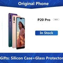 Globalne oprogramowanie HuaWei P20 Pro telefon komórkowy Kirin 970 Android 8.1 6.1