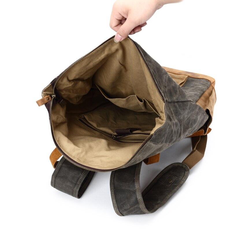 couro grande capacidade adolescente viajar daypacks à