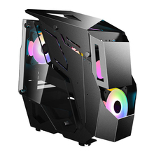 PC Case Towers Support Computer Desktop-Gamer Tempered-Glass Gaming Water-Cooled M-Atx/itx