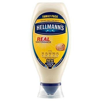 Hellmann's Real Mayonnaise Squeezy (750ml) - Pack of 6