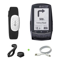 Bike GPS Computer Cycling GPS Navigation ANT+ Bluetooth speedometer Connect with Cadence/HR Monitor (not include)