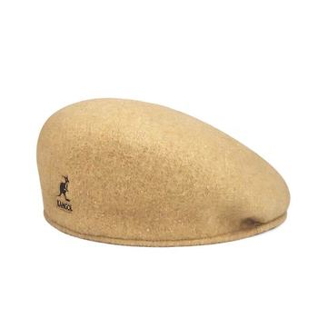 Hot Retro Old fashion Winter Men Women Kangarools Beret Hats Real Wool Cap Painter Hyuna Same Street Fashion Colors High Quality