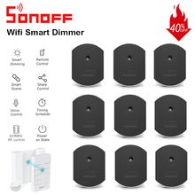 Sonoff D1 Smart Dimmer Switch Wifi Switch Module 433Mhz RF Remote Voice Control Light Adjust via eWeLink APP Alexa Google Home