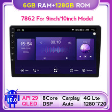 QLED 6G + 128G 5G WIFI Carplay Android 10 Auto radio Multimedia Player GPS-Player für Toyota VW Hyundai Kia Renault Suzuki Nissan
