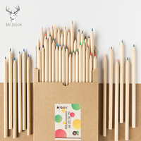 12/24/36 Colors Wood Colored Pencils Set Artist Painting Color Pencil for School Drawing Sketch Art Supplies Kraft Paper Box