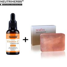 Neutriherbs Vitamin C Serum with Whitening Soap, Face Skin Whitening Moisturizing Natural Serum for Face