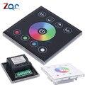 Настенный контроллер для сенсорной панели  12-24 В постоянного тока  RGBW  полноцветный  стеклянный  светодиодный  RGB