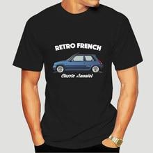 shubuzhi Hot Sale Super Fashion RENAULT 5 GT TURBO T-shirt. RETRO FRENCH. CLASSIC CAR Custom Shirts sbz1039 1636A