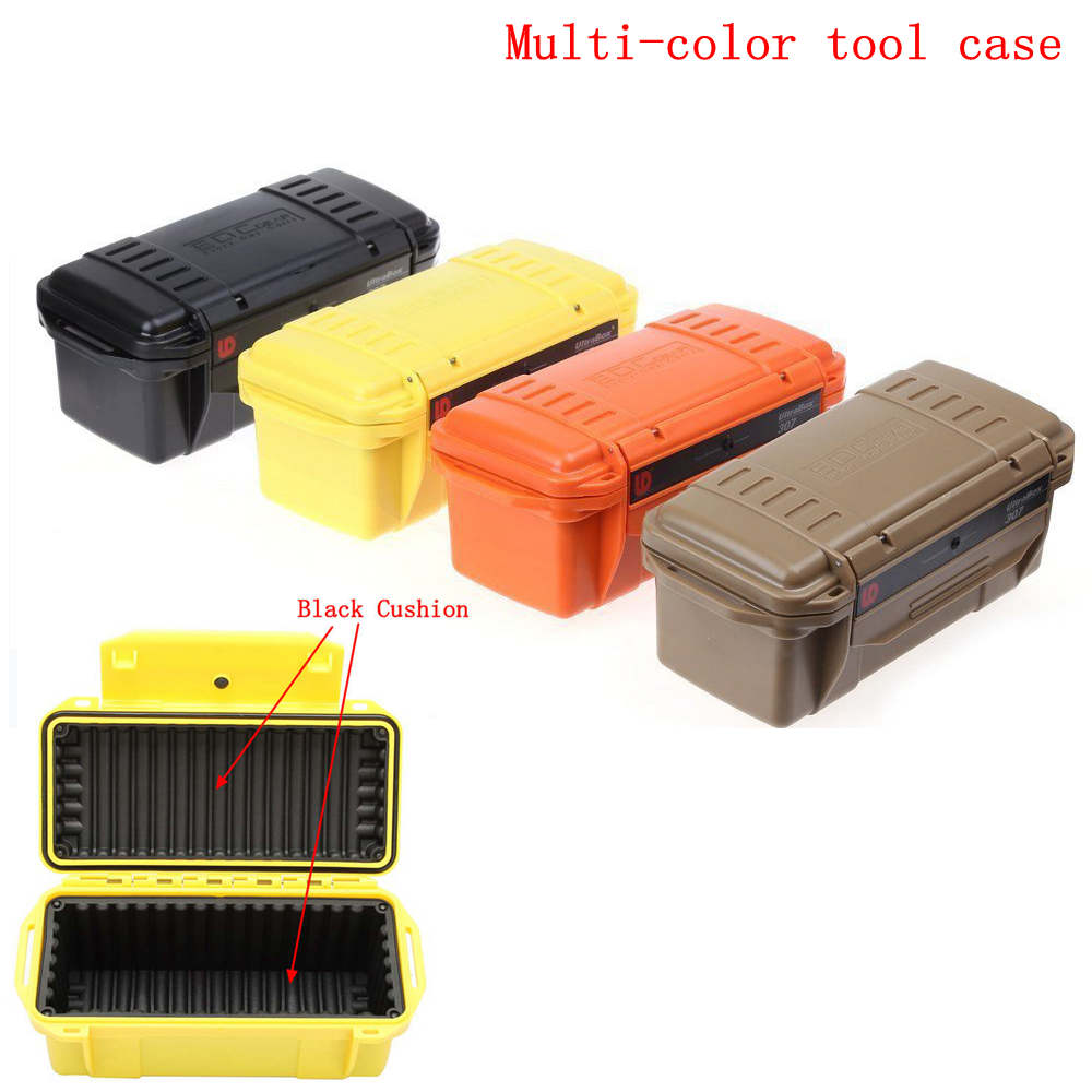 1PC Survival Airtight Case Holder Storage Matches Tools Travel Sealed Containers Waterproof Boxes Outside Storage Bags