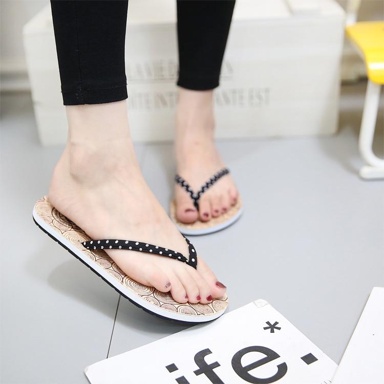 2019 Flip Flops Casual Women's Slippers Outdoor New Beach Platform Shoes for Woman Summer Cloth Females Flip Flops Sandals