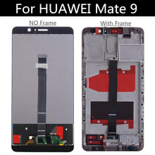 5.9'' For Huawei Mate 9 LCD DIsplay+Touch Screen with frame Digitizer Assembly Replacement For Huawei Mate9 MHA-L09 MHA-L29 LCD with frame lcd display touch screen digitizer assembly replacement for huawei ascend mate 7 free shipping