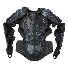 Полный корпус Броня мотоциклетная куртка мужская мотокросса гоночная нагрудная Экипировка защитный плечевой ручной шарнир S-XXXL мотоциклетные наколенники