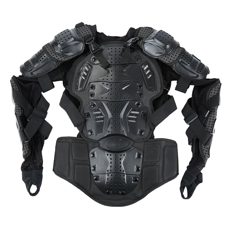 Full Body Armor Motorcycle Jacket Men Motorcross Racing Chest Gear Protective Shoulder Hand Joint S-XXXL Motorcycle Knee Pads