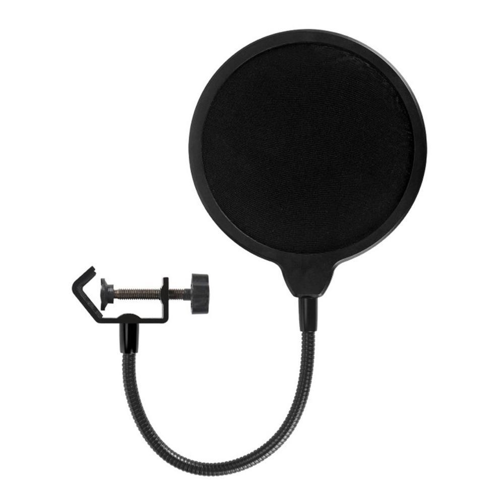 For Yeti Dedicated Microphone Pop Filter Large Double-Layer U-Type Microphone Recording With Anti-Spray Spray Network