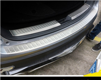 High-quality stainless steel CX-5 CX5 2012 2013 2014 2015 2016 built-in external 2-piece trunk Shield refit fast safe ship