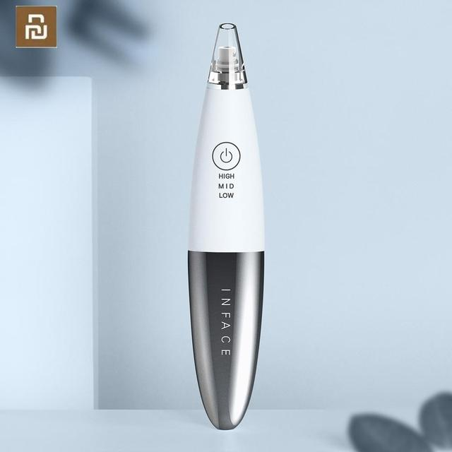 YouPin inFace Blackhead Remover Skin Care Pore Vacuum Acne Pimple Removal Vacuum Suction Tool Facial Face Clean Machine