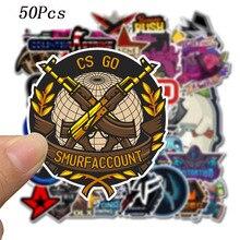 50Pcs VSCO anti-terrorism CS graffiti sticker car suitcase cool notebook cartoon anime skateboard toy