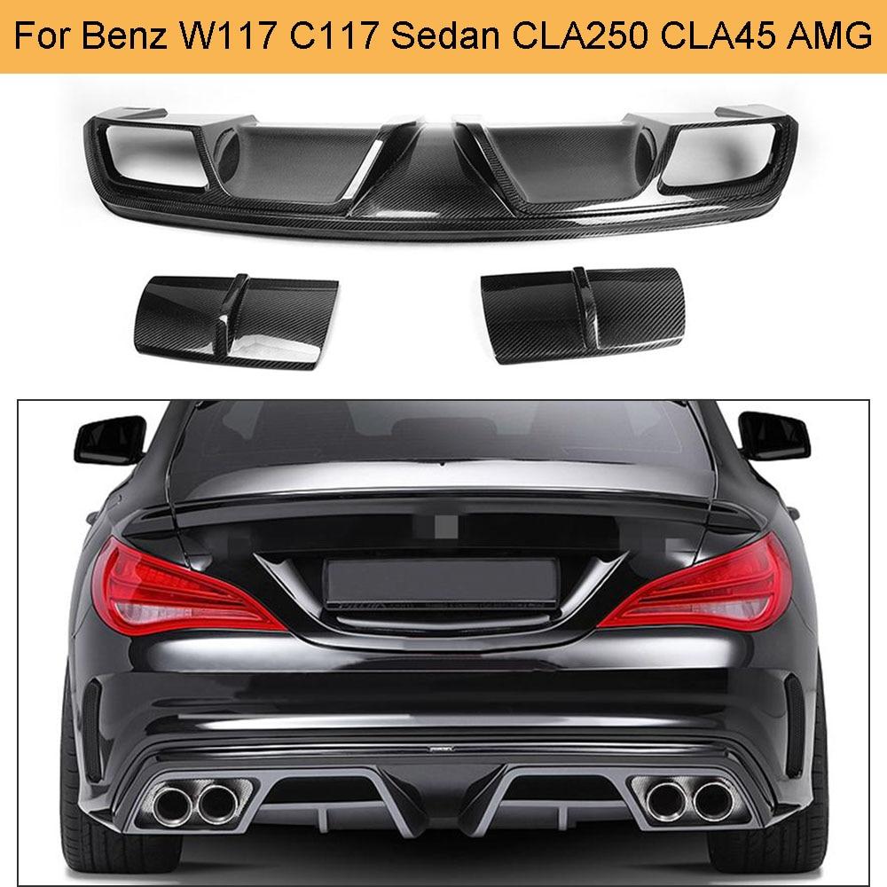 Bumper Grille For 2014-2015 Mercedes Benz CLA250 CLA45 AMG Center Textured Black