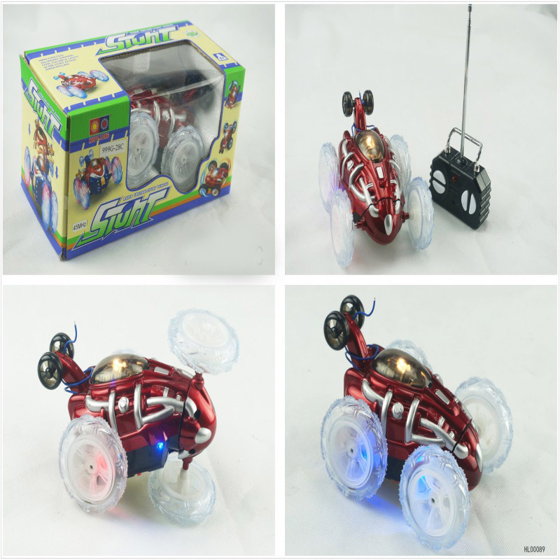 Stone Wireless Remote Control Tumbling Stunt Car Dumpers Boy Children Stall Hot Selling Electric Toys Hot Selling