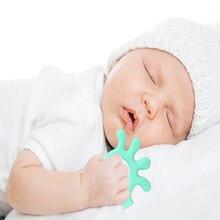 Детский Прорезыватель для зубов с героями мультфильмов, безопасные Силиконовые Прорезыватели для новорожденных, детские игрушки с животными, пищевой молярный Прорезыватель для жевания зубов для младенцев