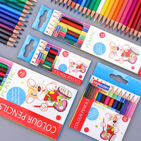 Professional Colored Pencils Set 6/12/18/24 Colors Children's Drawing Pencil School Art Supplies| |   -