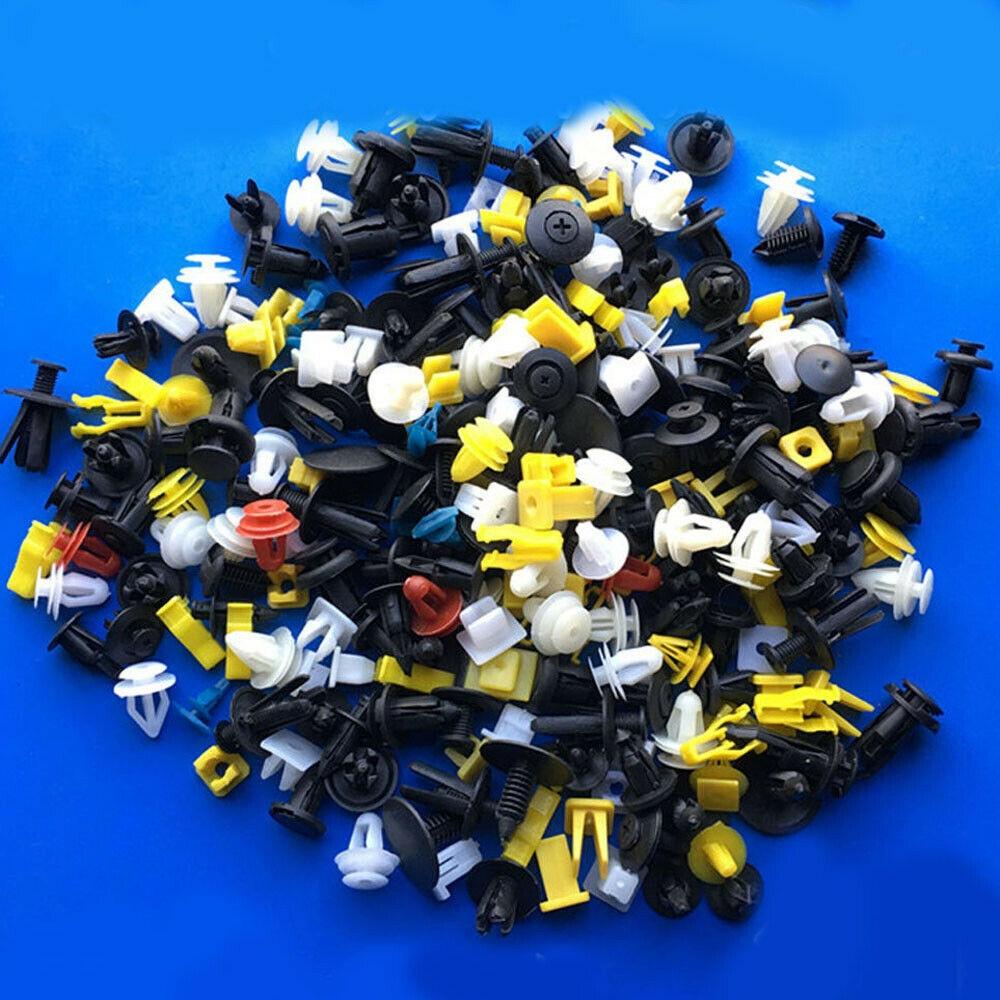 200 шт. Большой набор пластиковых фиксаторов для кузова автомобиля 2