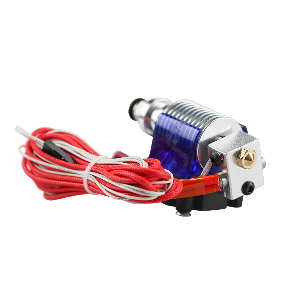 lowest price 3D Printer J-head Hotend with Single Cooling Fan for 1 75mm 3 0mm 3D v6 bowden Filament Wade Extruder 0 2mm 0 3mm 0 4mm Nozzle