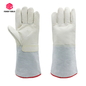 Resistant Low temperature and liquid nitrogen gloves cold storage LNG refueling laboratory antifreezing gloves labor safety low temperature of liquid nitrogen gloves gloves cold freezing ice lng leather gloves