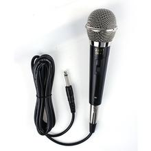 DishyKooker Professional Handheld Wired Dynamic Microphone Clear Voice for Karaoke Vocal Music Performance top quality ksm8 professional karaoke dynamic super kidney vocal wired microphone microfone microfono microphone