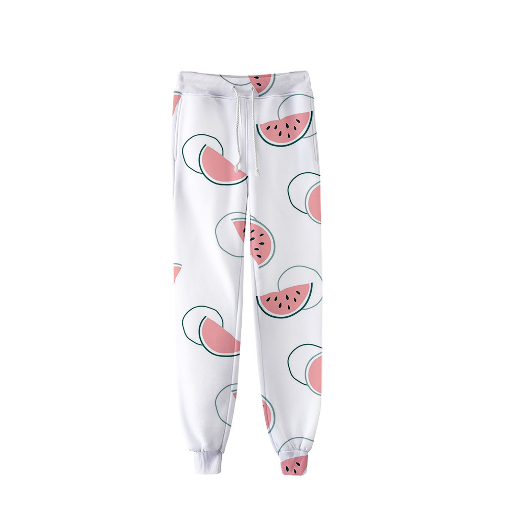 Clothing Trousers Jogging New Hip-Hop Take Fruit Unisex Hundred 3d-Print Leisure-Trend
