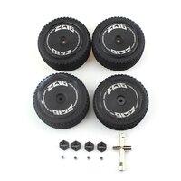 RC pneumatici auto esagonale sede ruota ferro albero controdado manica raccordi Set per WLtoys 1:14 veicolo telecomandato 144001 LY-1407