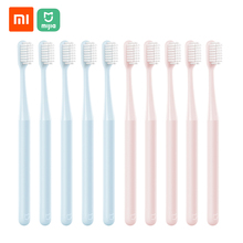 Зубная щетка Xiaomi Mijia 10 шт./лот, щетка с мягкой щетиной для взрослых, уход за полостью рта, для взрослых, детей, беременных женщин