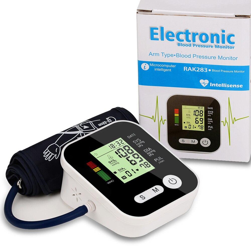 Automatische Arm Blutdruck Monitor Medizinische Ausrüstung Tonometer für Mess Blutdruck Monitor Heart Beat Meter Maschine